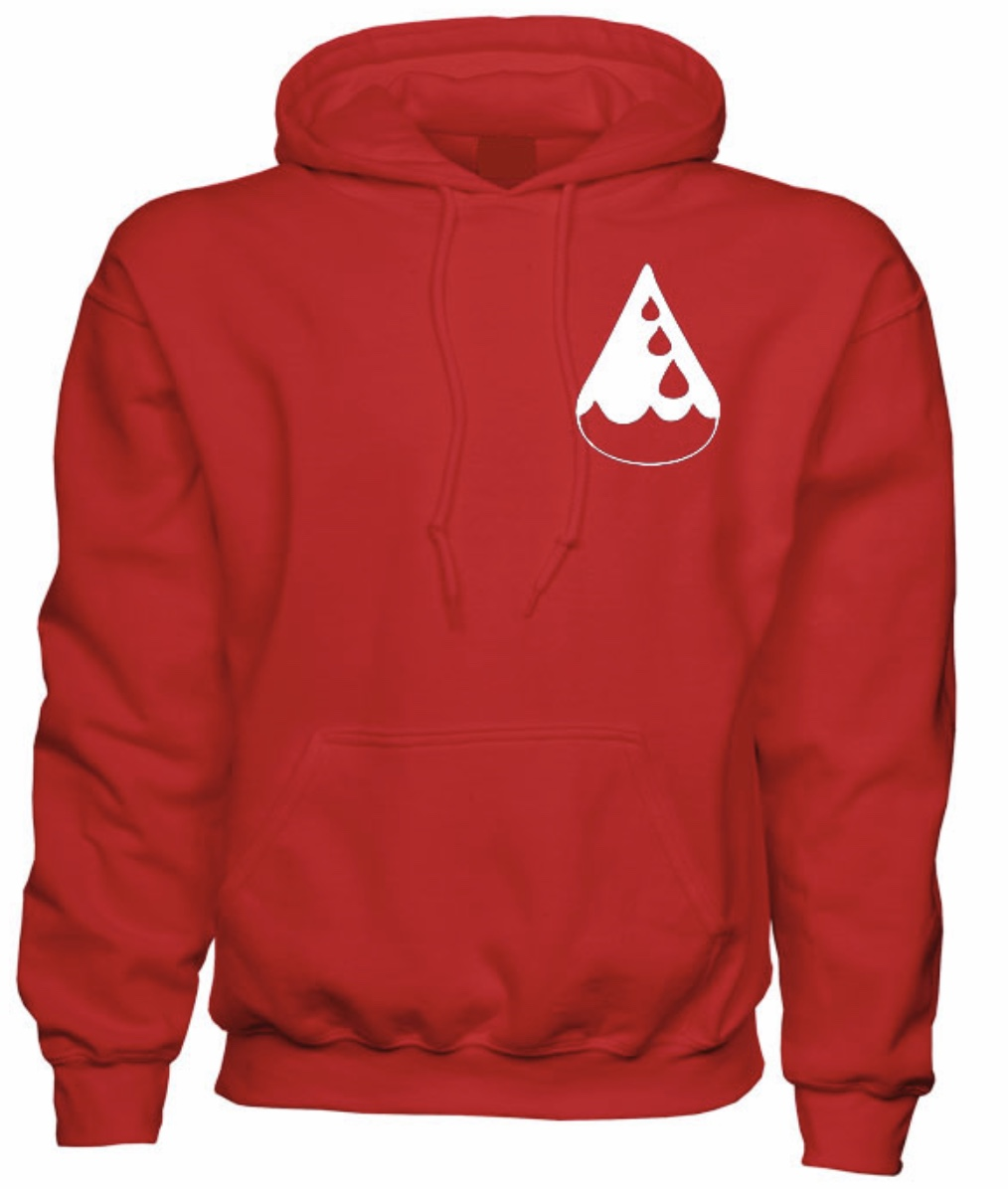 The Drop Hoodie - Red