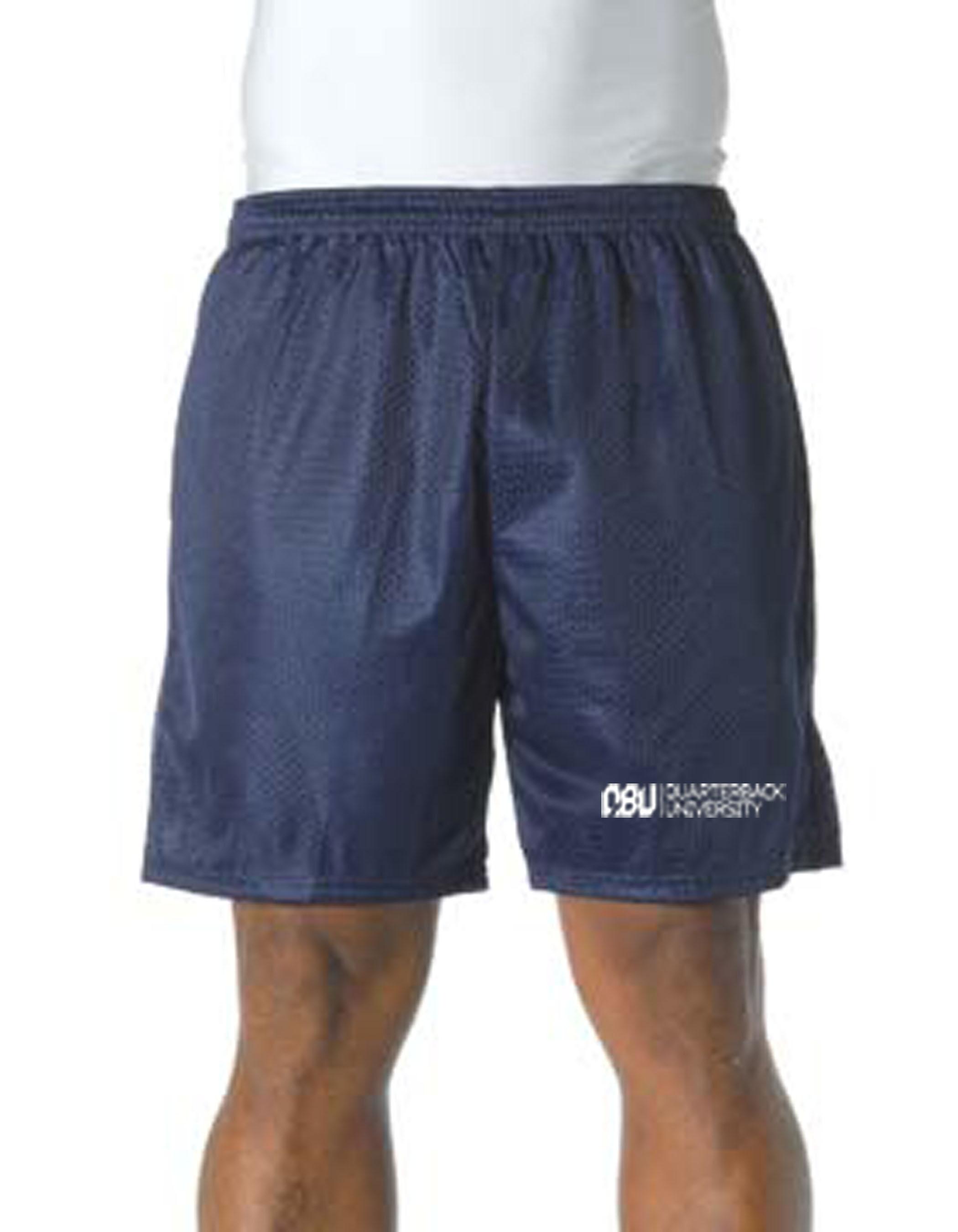 Quarterback University Shorts Navy