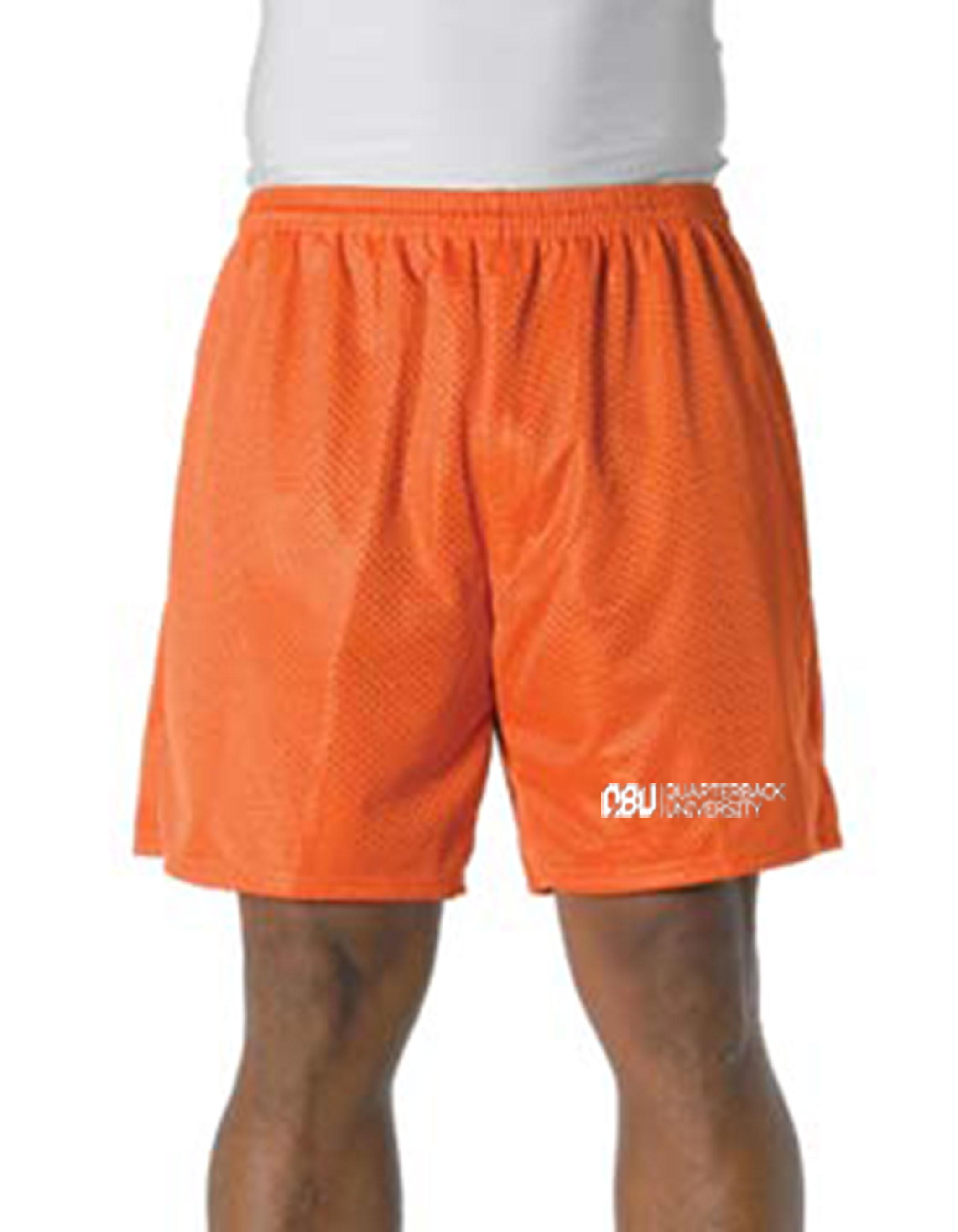Quarterback University Shorts Orange