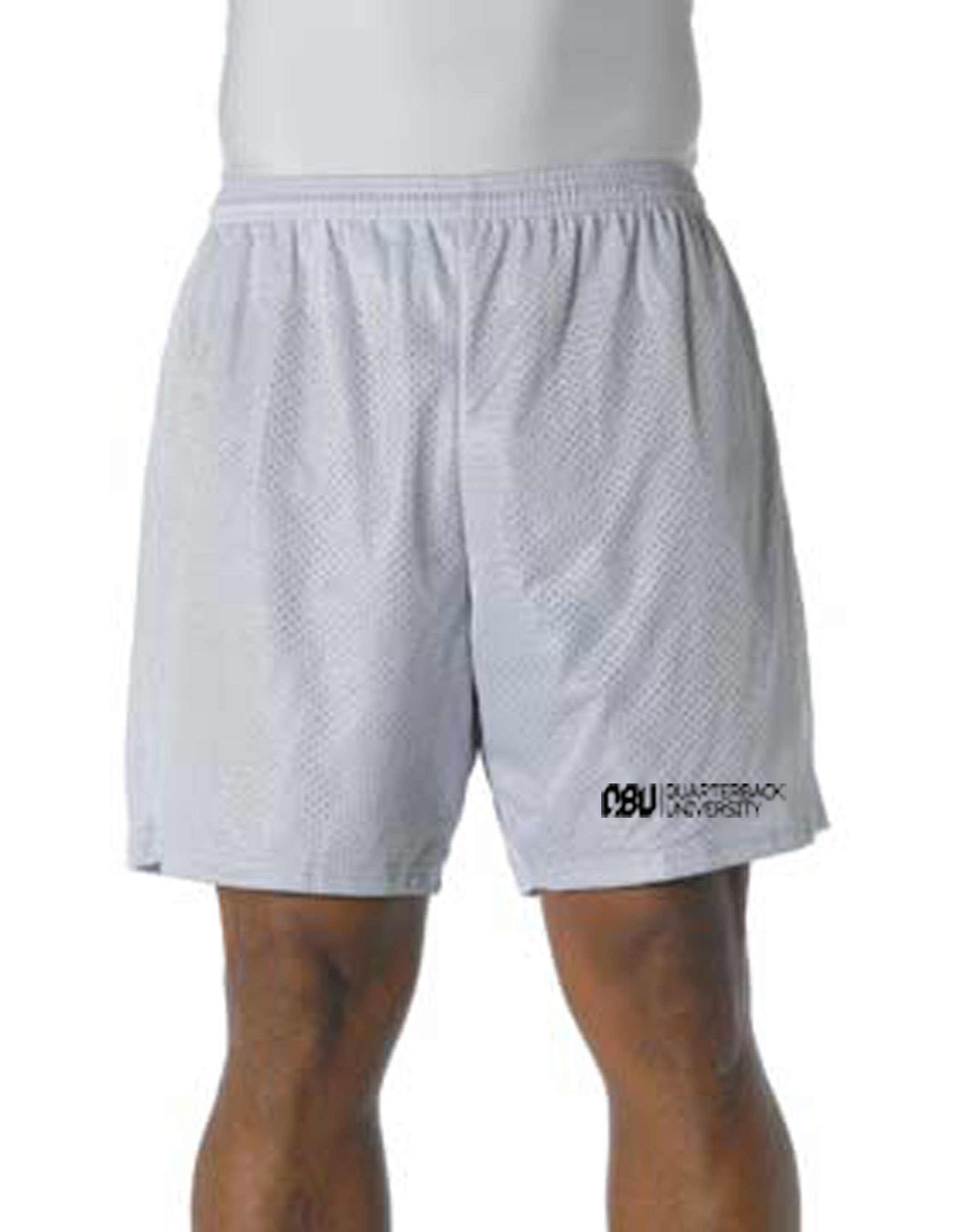Quarterback University Shorts Silver