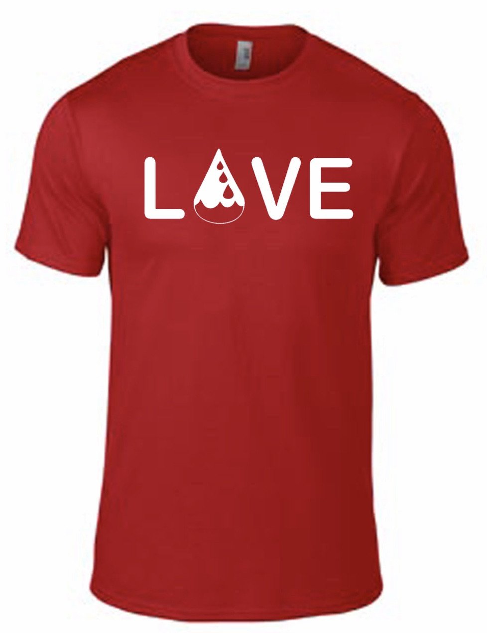Drop of Love Tee - Red