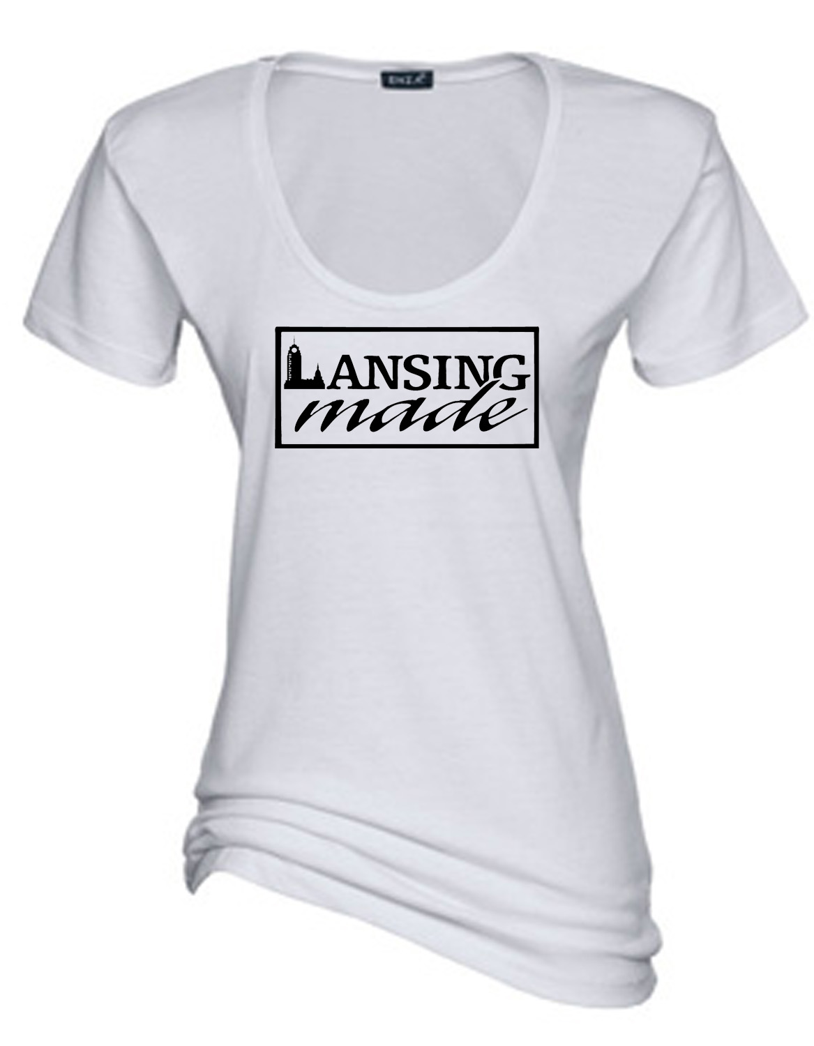 Lansing Made Scoop Tee