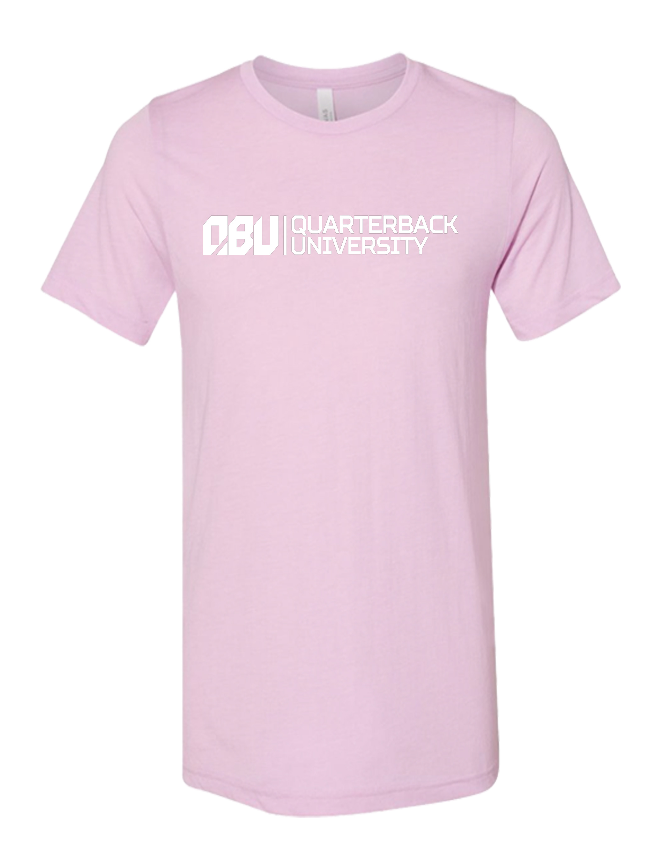 Quarterback University Tee Pink