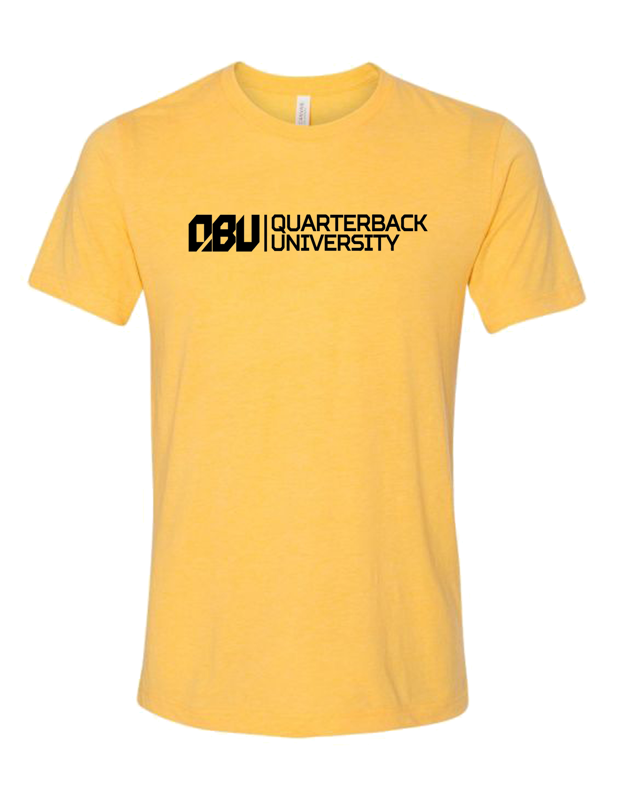 Quarterback University Tee Yellow