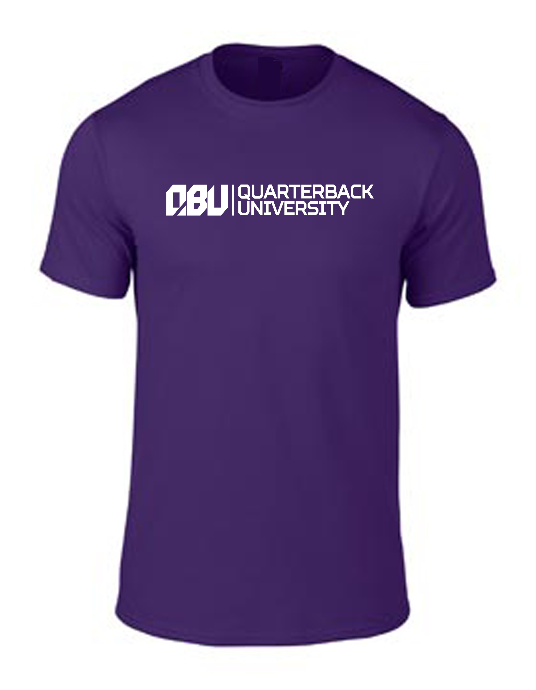 Quarterback University Tee Purple