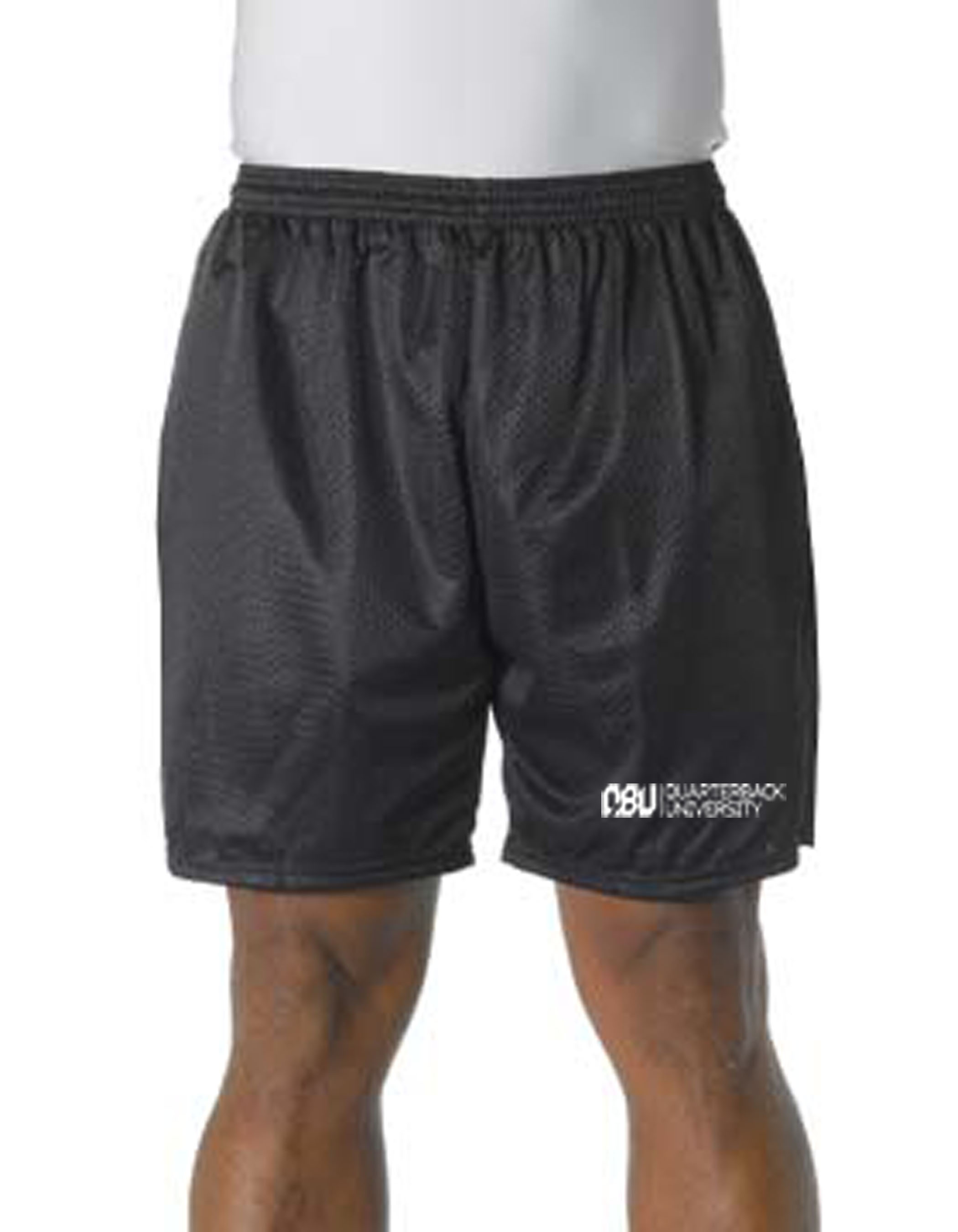 Quarterback University Shorts Black
