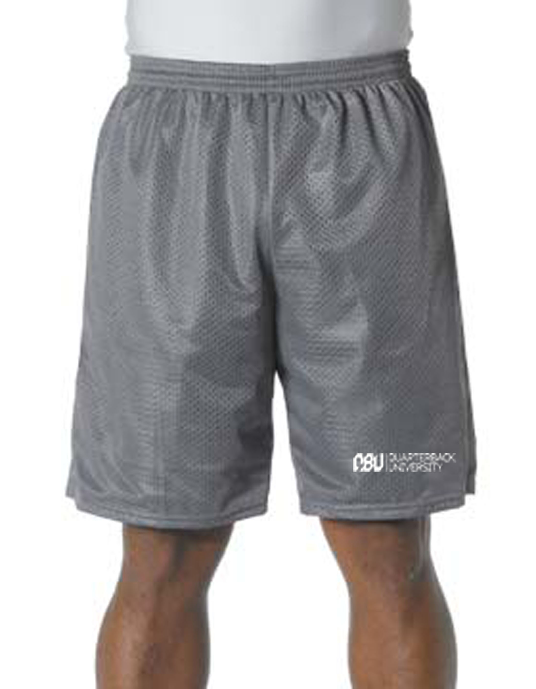 Quarterback University Shorts Grey