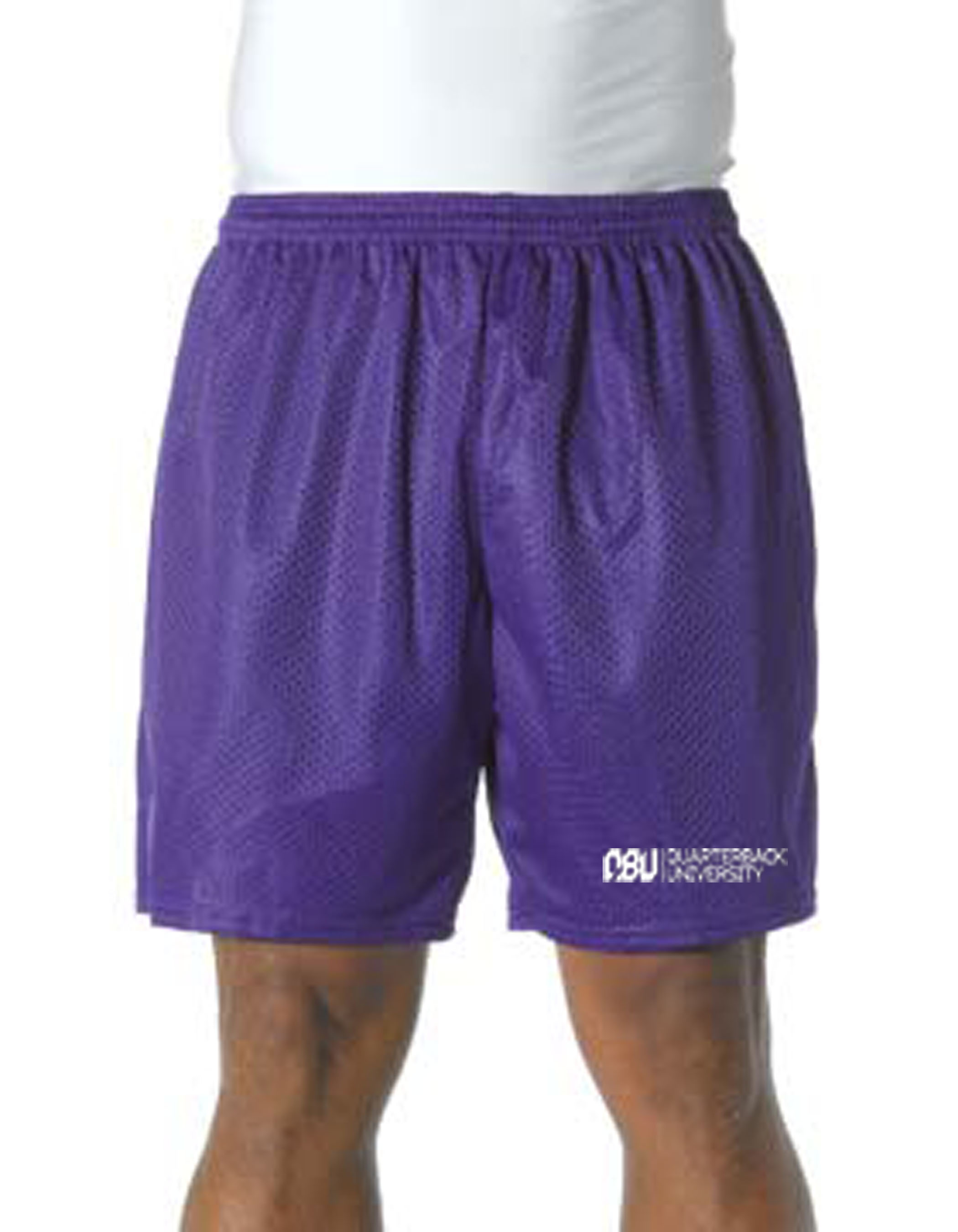 Quarterback University Shorts Purple
