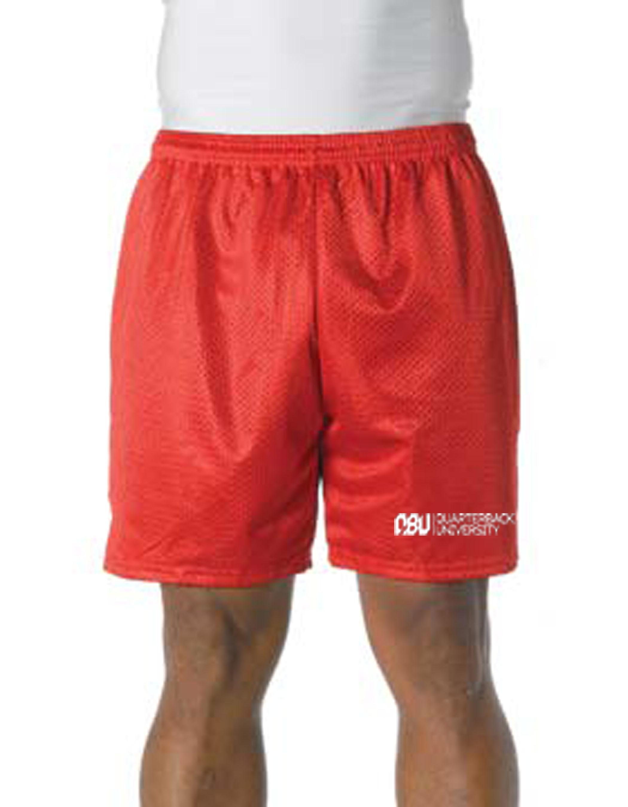Quarterback University Shorts Red