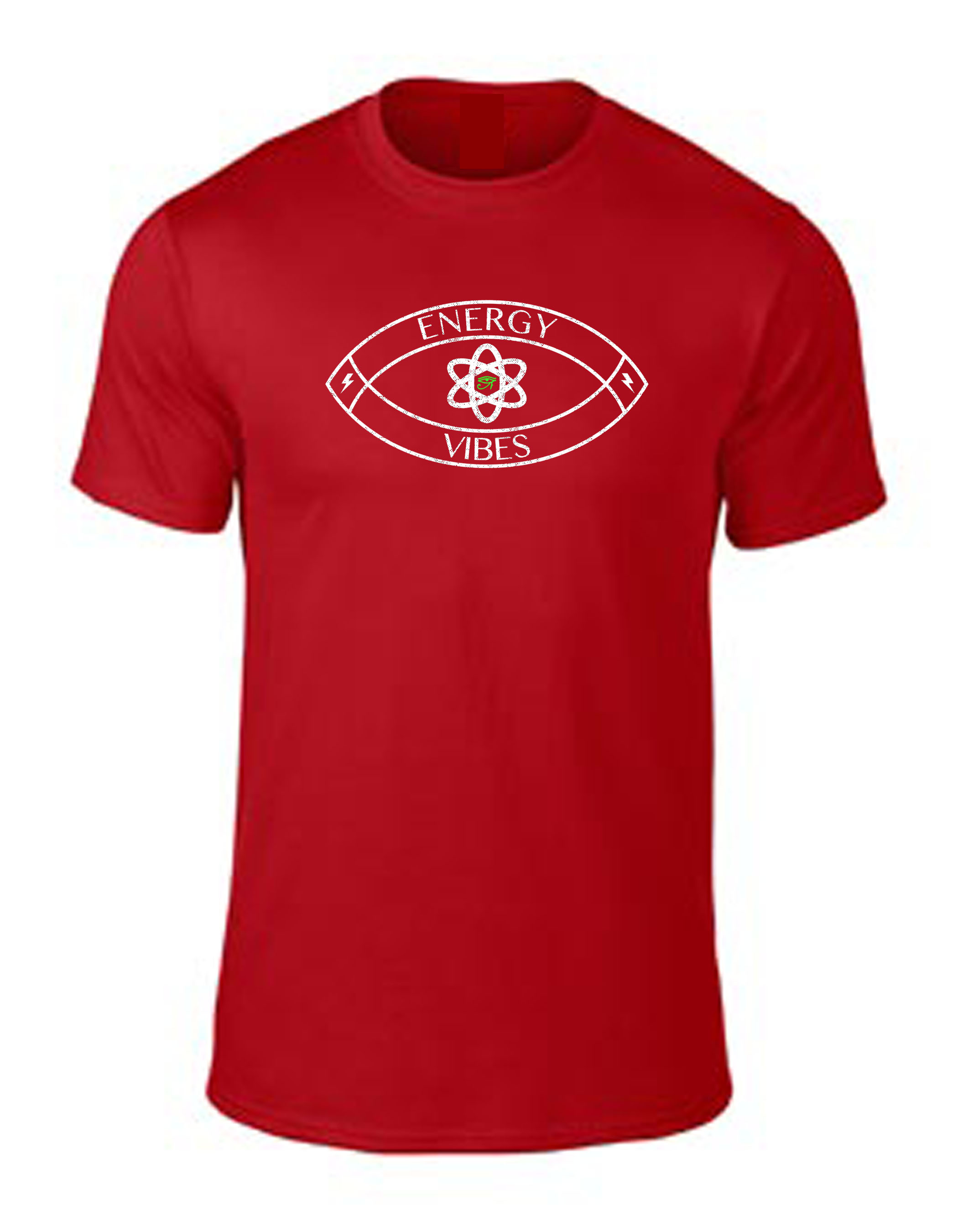 Energy and Vibes Tee Red