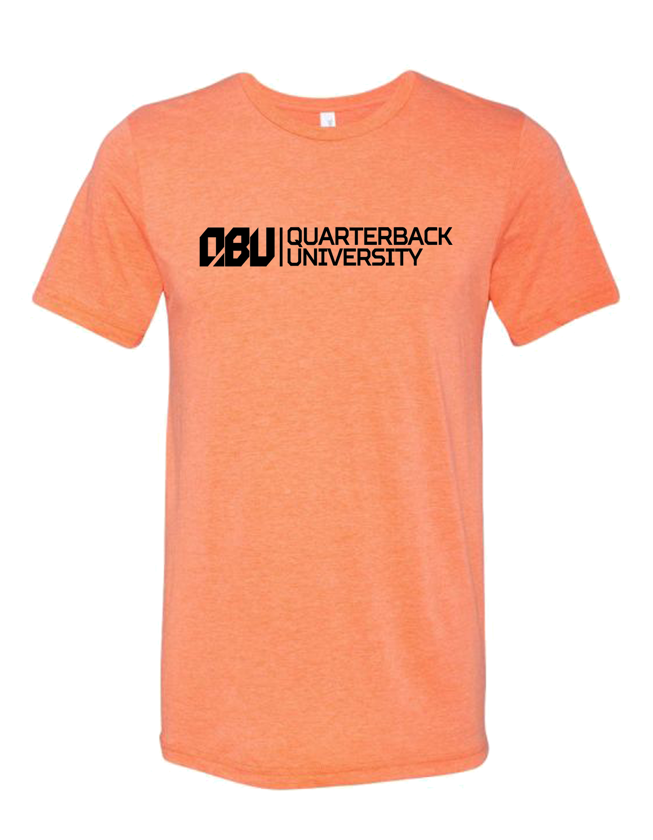 Quarterback University Tee Orange