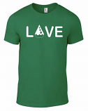 Drop of Love Tee - Green