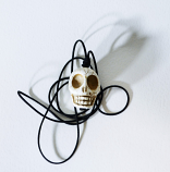 District Eleven Lone Skull Necklace