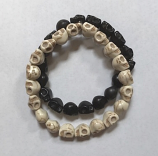 District Eleven Skull Bracelet