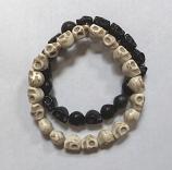 District Eleven Skull Bracelet