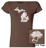 Mushroom Ladies Tee