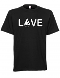 Drop of Love Tee - Black