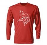 Bangor H.S. Football Long Sleeve Tee Red