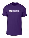Quarterback University Tee Purple