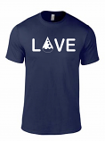 Drop of Love Tee - Blue