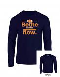 Be The Flow Long Sleeve Football Tee