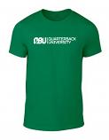 Quarterback University Tee Green